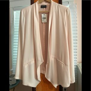 NWT Nordstrom ASTR Pale Pink Open Summer Jacket